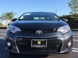 2016 Toyota Corolla S Special Edition Carfax Report - No AccidentsDamage Reported  Black Sand