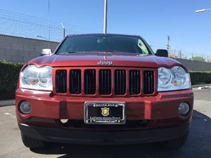 2007 Jeep Grand Cherokee Laredo Carfax Report - No AccidentsDamage Reported  Red Rock Crystal