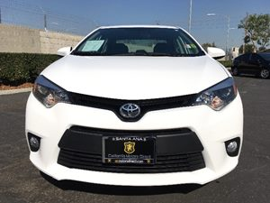 2014 Toyota Corolla LE Carfax 1-Owner  Super White  We are not responsible for typographical e