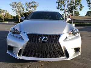 2015 Lexus IS 250 Base Carfax 1-Owner - No AccidentsDamage Reported  Silver  We are not respo
