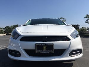2015 Dodge Dart SXT Carfax Report Transmission 6-Speed Automatic Bright White Clearcoat  We a