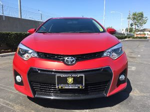2015 Toyota Corolla S Carfax 1-Owner - No AccidentsDamage Reported  Barcelona Red Metallic  W