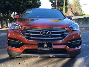 2017 Hyundai Santa Fe Sport 24L Carfax 1-Owner  Orange  We are not responsible for typographi