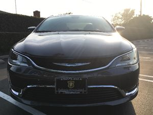 2015 Chrysler 200 Limited Carfax Report - No AccidentsDamage Reported  Gray  We are not respo