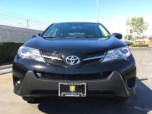 2014 Toyota RAV4 LE Carfax 1-Owner  Black  We are not responsible for typographical errors Al
