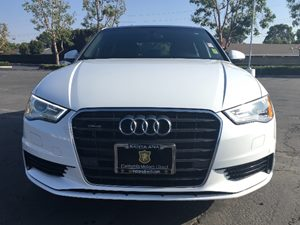 2015 Audi A3 20T quattro Premium Carfax 1-Owner - No AccidentsDamage Reported  Glacier White