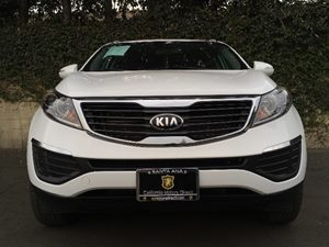 2013 Kia Sportage LX Carfax 1-Owner  Clear White  We are not responsible for typographical err