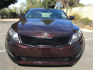 2013 Kia Optima LX Carfax 1-Owner - No AccidentsDamage Reported  Maroon  We are not responsib