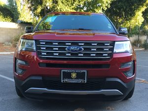 2016 Ford Explorer XLT Carfax 1-Owner - No AccidentsDamage Reported  Ruby Red Metallic Tinted