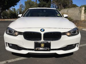 2014 BMW 3 Series 328i Carfax 1-Owner  White  We are not responsible for typographical errors