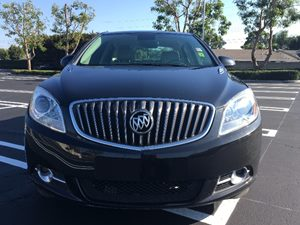 2014 Buick Verano Base Carfax 1-Owner - No AccidentsDamage Reported  Carbon Black Metallic  W
