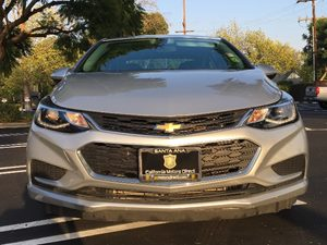 2016 Chevrolet Cruze LT Auto Carfax 1-Owner  Silver Ice Metallic  We are not responsible for t