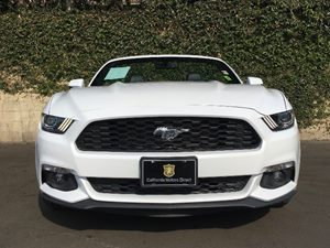 2015 Ford Mustang EcoBoost Premium Carfax Report - No AccidentsDamage Reported  Oxford White