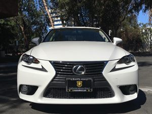 2014 Lexus IS 250 Sport Package Carfax 1-Owner  Ultra White  We are not responsible for typogr