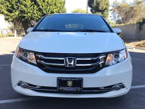 2015 Honda Odyssey Touring Elite Carfax Report  White Diamond Pearl  We are not responsible fo