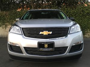 2015 Chevrolet Traverse LS Carfax 1-Owner - No AccidentsDamage Reported  Silver Ice Metallic