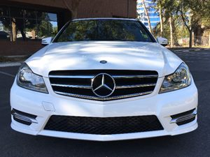 2014 MERCEDES C 250 C 250 Luxury Carfax 1-Owner  White  We are not responsible for typographic