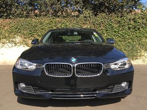 2014 BMW 3 Series 328i Carfax 1-Owner  Black  We are not responsible for typographical errors