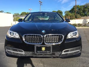 2014 BMW 5 Series 528i Carfax 1-Owner - No AccidentsDamage Reported  Black  We are not respon
