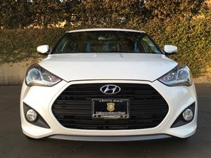 2014 Hyundai Veloster Base Carfax 1-Owner - No AccidentsDamage Reported  Elite White Pearl  W