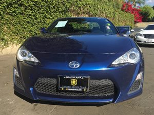 2015 Scion FR-S  Carfax 1-Owner - No AccidentsDamage Reported  Blue  We are not responsible f