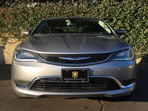 2015 Chrysler 200 Limited Carfax Report  Billet Silver Metallic Clearcoat  We are not responsi