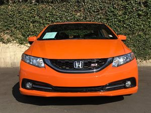 2015 Honda Civic Sedan Si Carfax Report  Orange Fire Pearl  We are not responsible for typogra