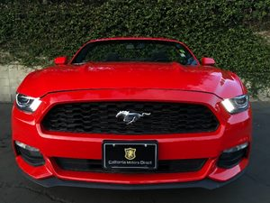 2016 Ford Mustang V6 Carfax 1-Owner - No AccidentsDamage Reported  Red  We are not responsibl