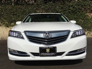 2015 Acura RLX wAdvance Carfax 1-Owner - No AccidentsDamage Reported  Bellanova White Pearl