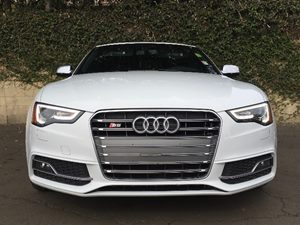 2014 Audi S5 30T quattro Premium Carfax 1-Owner - No AccidentsDamage Reported  White  We are
