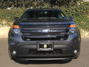 2015 Ford Explorer Sport Carfax 1-Owner  Gray  We are not responsible for typographical errors