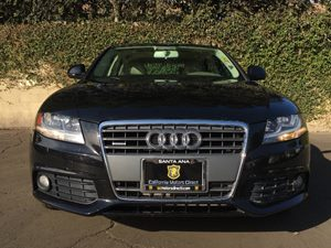 2009 Audi A4 20T quattro Carfax Report - No AccidentsDamage Reported  Black  We are not resp