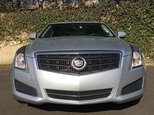 2014 Cadillac ATS 25L Carfax 1-Owner  Silver  We are not responsible for typographical errors