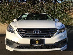 2015 Hyundai Sonata Sport Carfax 1-Owner - No AccidentsDamage Reported  Quartz White Pearl  W