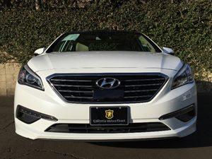 2015 Hyundai Sonata Limited Carfax 1-Owner - No AccidentsDamage Reported  Quartz White Pearl