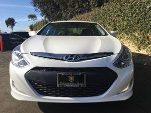 2013 Hyundai Sonata Hybrid Limited Carfax 1-Owner - No AccidentsDamage Reported  Porcelain Whi