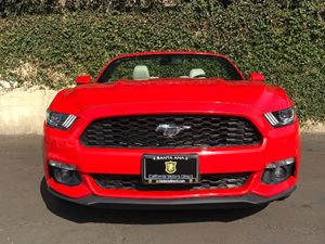 2016 Ford Mustang EcoBoost Premium Carfax Report  Red  We are not responsible for typographica
