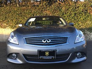 2013 INFINITI G37 Sedan Journey Carfax 1-Owner - No AccidentsDamage Reported  Gray  We are no