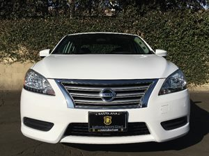 2015 Nissan Sentra SV Carfax 1-Owner - No AccidentsDamage Reported  Aspen White  We are not r