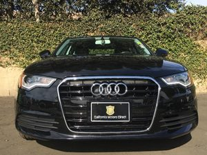 2014 Audi A6 20T Premium Carfax 1-Owner - No AccidentsDamage Reported  Black  We are not res