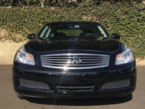 2008 INFINITI G35 Sedan x Carfax Report - No AccidentsDamage Reported  Black Obsidian  We are