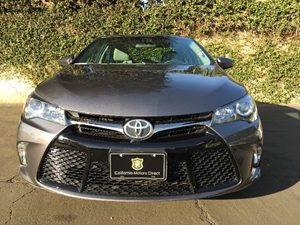 2015 Toyota Camry SE Carfax 1-Owner - No AccidentsDamage Reported  Gray  We are not responsib