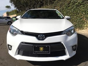 2015 Toyota Corolla LE Plus Carfax 1-Owner - No AccidentsDamage Reported  Super White  We are