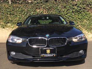 2015 BMW 3 Series 320i Carfax Report - No AccidentsDamage Reported  Black  We are not respons