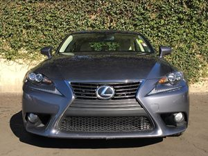 2014 Lexus IS 350 Base Carfax 1-Owner  Nebula Gray Pearl  We are not responsible for typograph
