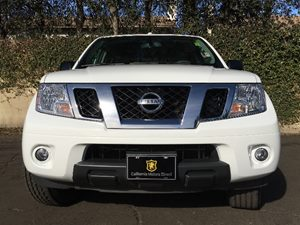 2015 Nissan Frontier SV Carfax 1-Owner  Glacier White  We are not responsible for typographica