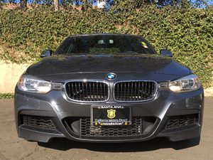 2014 BMW 3 Series 328i Carfax 1-Owner - No AccidentsDamage Reported  Mineral Gray Metallic  W