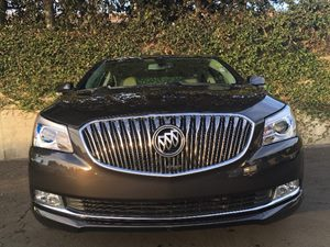 2014 Buick LaCrosse Leather Carfax 1-Owner Wheels 18 457 Cm Sterling Silver Painted Aluminu