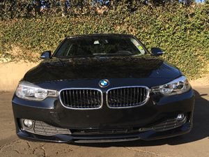 2015 BMW 3 Series 320i Carfax 1-Owner  Black  We are not responsible for typographical errors