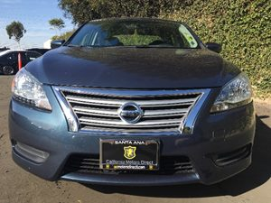 2015 Nissan Sentra SV Carfax 1-Owner - No AccidentsDamage Reported  Graphite Blue  We are not